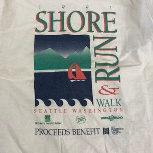 🔥1991 Seattle Marathon Shirt🔥